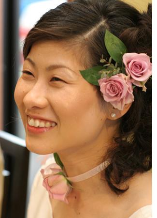 美しい花嫁さんを創るには、ベースが